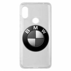 Чохол для Xiaomi Redmi Note 6 Pro BMW Black & White - FatLine