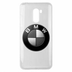 Чохол для Xiaomi Pocophone F1 BMW Black & White - FatLine
