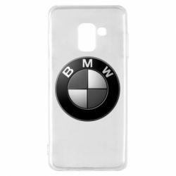 Чохол для Samsung A8 2018 BMW Black & White - FatLine