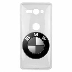 Чохол для Sony Xperia XZ2 Compact BMW Black & White - FatLine