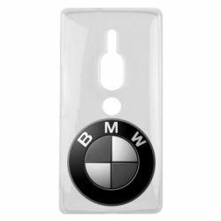 Чохол для Sony Xperia XZ2 Premium BMW Black & White - FatLine