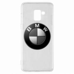 Чохол для Samsung A8+ 2018 BMW Black & White - FatLine