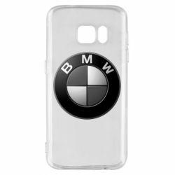 Чохол для Samsung S7 BMW Black & White - FatLine