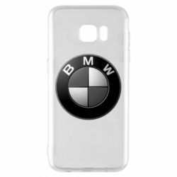 Чохол для Samsung S7 EDGE BMW Black & White - FatLine