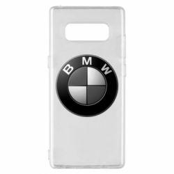 Чохол для Samsung Note 8 BMW Black & White - FatLine