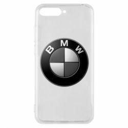Чохол для Huawei Y6 2018 BMW Black & White - FatLine