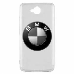 Чохол для Huawei Y6 Pro 2018 BMW Black & White - FatLine