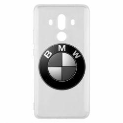 Чохол для Huawei Mate 10 Pro BMW Black & White - FatLine