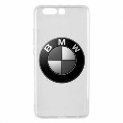 Чохол для Huawei P10 Plus BMW Black & White - FatLine