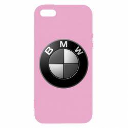 Чохол для iphone 5/5S/SE BMW Black & White - FatLine