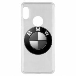 Чохол для Xiaomi Redmi Note 5 BMW Black & White - FatLine