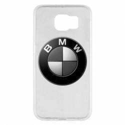 Чохол для Samsung S6 BMW Black & White - FatLine