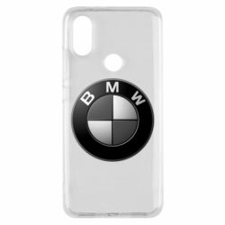 Чохол для Xiaomi Mi A2 BMW Black & White - FatLine