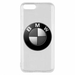 Чохол для Xiaomi Mi6 BMW Black & White - FatLine