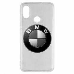 Чохол для Xiaomi Mi8 BMW Black & White - FatLine