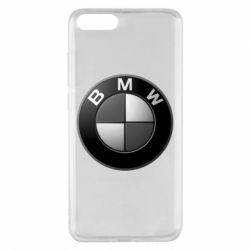 Чохол для Xiaomi Mi Note 3 BMW Black & White - FatLine