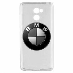 Чохол для Xiaomi Redmi 4 BMW Black & White - FatLine