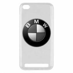 Чохол для Xiaomi Redmi 5a BMW Black & White - FatLine