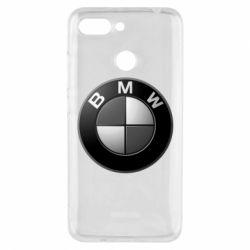 Чохол для Xiaomi Redmi 6 BMW Black & White - FatLine
