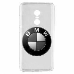 Чохол для Xiaomi Redmi Note 4 BMW Black & White - FatLine