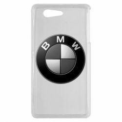 Чохол для Sony Xperia Z3 mini BMW Black & White - FatLine