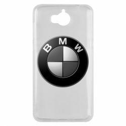 Чохол для Huawei Y5 2017 BMW Black & White - FatLine