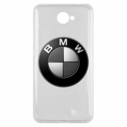 Чохол для Huawei Y7 2017 BMW Black & White - FatLine