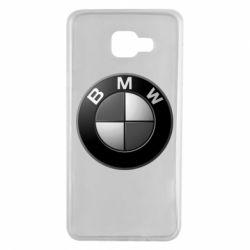 Чохол для Samsung A7 2016 BMW Black & White - FatLine