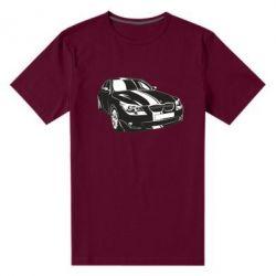 Купить Mastiks, Мужская стрейчевая футболка BMW car, FatLine