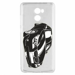 Чехол для Xiaomi Redmi 4 BMW car