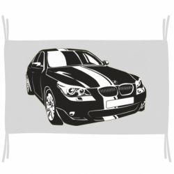 Флаг BMW car