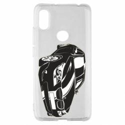Чехол для Xiaomi Redmi S2 BMW car