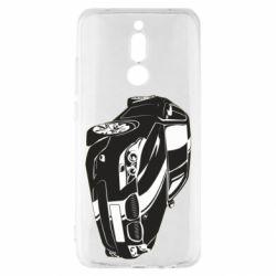 Чехол для Xiaomi Redmi 8 BMW car