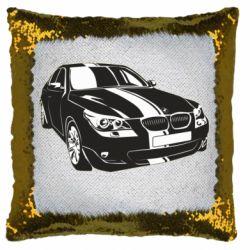 Подушка-хамелеон BMW car