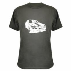 Камуфляжная футболка BMW car