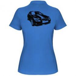 Купить Mastiks, Женская футболка поло BMW car, FatLine