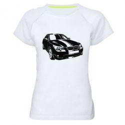 Купить Mastiks, Женская спортивная футболка BMW car, FatLine