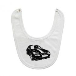 Слюнявчик  BMW car