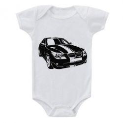 Детский бодик BMW car
