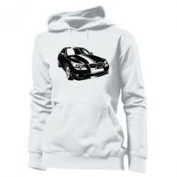 Женская толстовка BMW car