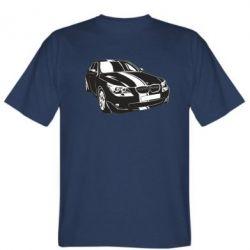 Мужская футболка BMW car