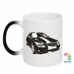 Кружка-хамелеон BMW car