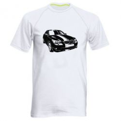 Купить Mastiks, Мужская спортивная футболка BMW car, FatLine
