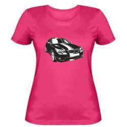 Купить Mastiks, Женская футболка BMW car, FatLine