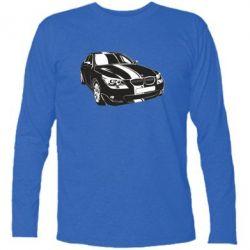 Купить Mastiks, Футболка с длинным рукавом BMW car, FatLine
