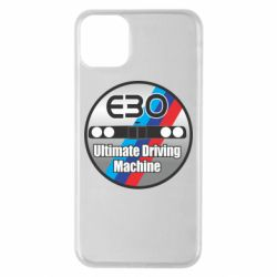 Чехол для iPhone 11 Pro Max BMW E30 Ultimate Driving Machine
