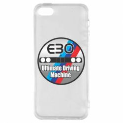 Купить Чехол для iPhone5/5S/SE BMW E30 Ultimate Driving Machine, FatLine