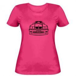 Женская футболка BMW E34 - FatLine