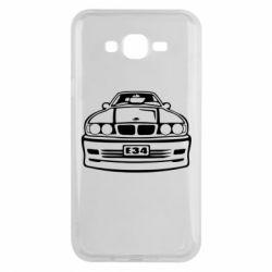 Чехол для Samsung J7 2015 BMW E34