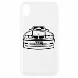Чехол для iPhone XR BMW E34